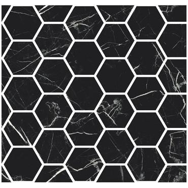 "Marmorea Port Laurent Polished 2"" Hexagon Mosaic (FIPLH)"