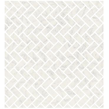 Marmorea Bianco Gioia Polished Lisca Mosaic (FIBGL)