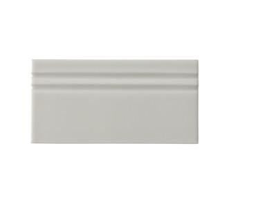 Riviera Cadaques Gray Base Board 4x8 (Glazed Top Edge) (ADRCA809)