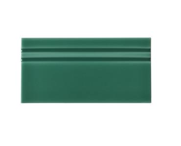 Riviera Rimini Green Base Board 4x8 (Glazed Top Edge) (ADRRI809)