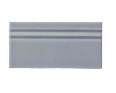 Riviera Rodas Blue Base Board 4x8 (Glazed Top Edge) (ADRRO809)