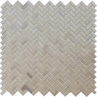 Novelty Quartz Glass Herringbone Mosaic (NV971HERMS1P)