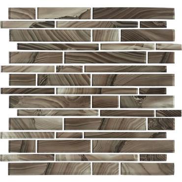 Refluence Cavern Glass Linear Mosaic 12x12 (RE11RANDMS1P)