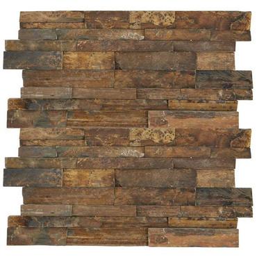 Stacked Stone Tibetan Slate Panel 6x24 (S317624STACK1T)