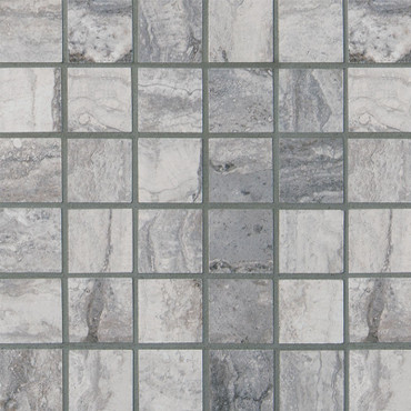 Pietra Bernini Carbone Matte 2x2 Mosaic (NBERCAR2X2-N)