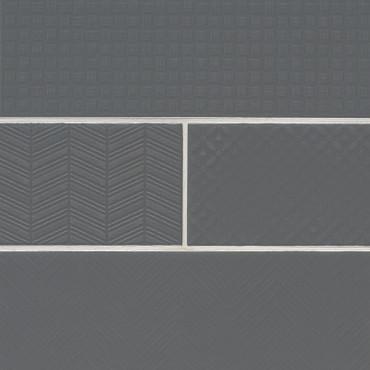 Urbano Graphite 3D Mix 4x12 (NURBGRAMIX4X12)