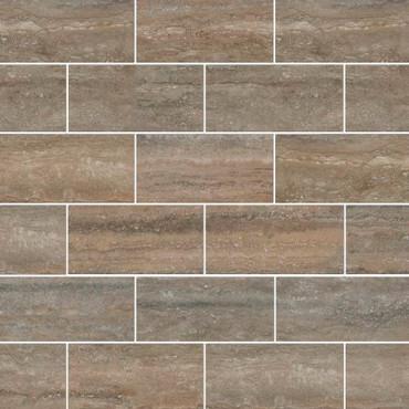 Veneto Noce Polished Mosaic 2x4 (NVENNOC2X4P-N)