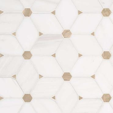 Cecily Pattern Polished Mosaic (SMOT-CECILY-POL10MM)