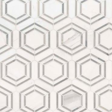 Georama Grigio Polished Mosaic (SMOT-GEORAMA-GRIGIOP)