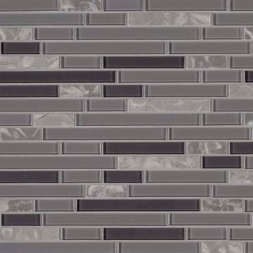 Lorena Grigio Interlocking Mosaic (SMOT-SGLSIL-LORGRI4MM)