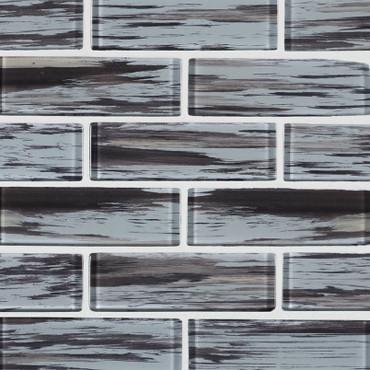 Verde 2x6 Subway Mosaic (SMOT-GLSST-VERDE8MM)