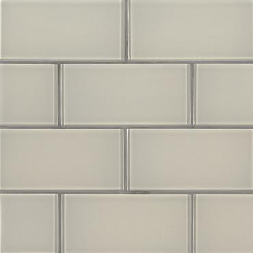 Snowcap White Subway Tile 3x6 (SMOT-GL-T-SNWHT36)