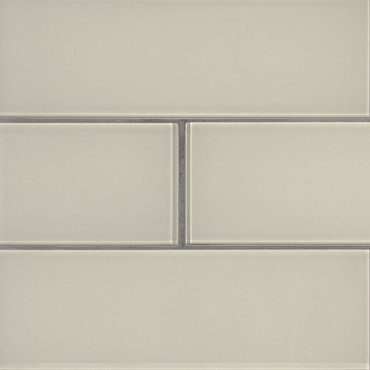 Snowcap White Subway Tile 4x12 (SMOT-GL-T-SNWHT412)