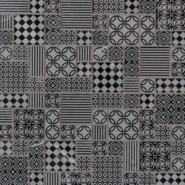 Tetris Nero Mosaic (SMOT-TETNERO-10MM)