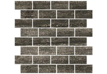 Heritage Graphite Brick Mosaic 1.5x3 (1100229)