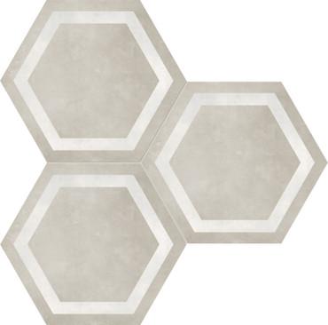 Form Sand Hexagon Frame 7x8 (60-406)