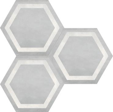 Form Ice Hexagon Frame 7x8 (60-407)