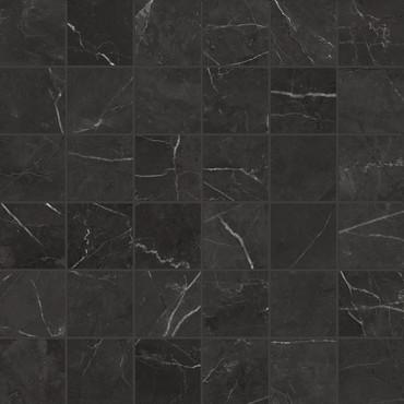 La Marca Nero Venato Honed Mosaic 2x2 (4501-0366-0)