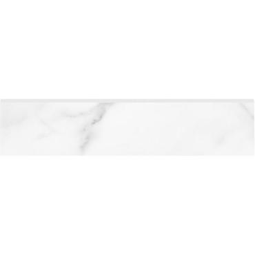 La Marca Statuario Nuovo Honed Bullnose 3x12 (4502-0297-0)