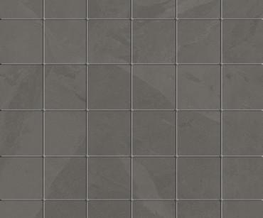 Brazilian Slate Elephant Grey Porcelain Mosaic 2x2 (8483)