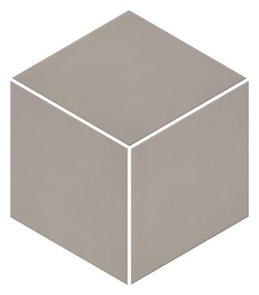 Neoconcrete Light Gray Matte Mosaic 3D Cube 12x12 (NE123DCUBEMS1P2)