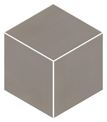 Neoconcrete Medium Gray Matte Mosaic 3D Cube 12x12 (NE133DCUBEMS1P2)
