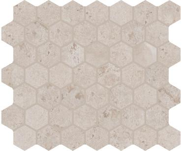 "Rochester Beige Ceramic 1 1/2"" Hex Mosaic (RC0315HEXMS1P2)"