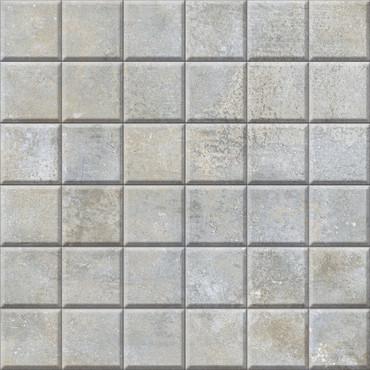 Brooklyn Cemento Greige Honed Mosaic 2x2 (IRG12MO184)