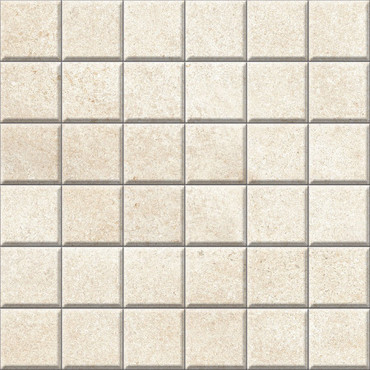 Brooklyn Cemento Sand Honed Mosaic 2x2 (IRG12MO185)
