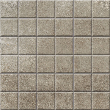 Brooklyn Cemento Toupe Honed Mosaic 2x2 (IRG12MO186)