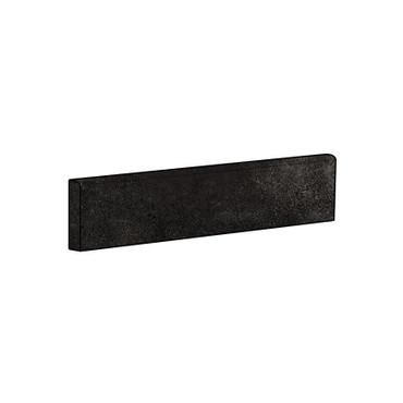 Brooklyn Cemento Black Honed Bullnose 4x24 (IRG424BT183)