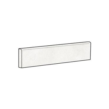 Brooklyn Cemento White Honed Bullnose 4x24 (IRG424BT187)