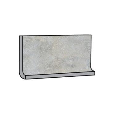 Brooklyn Cemento Greige Honed Cove Base 6x12 (IRG612C184)