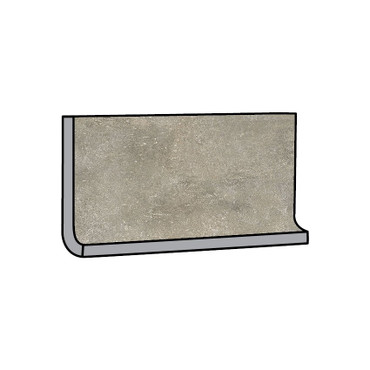Brooklyn Cemento Toupe Honed Cove Base 6x12 (IRG612C186)