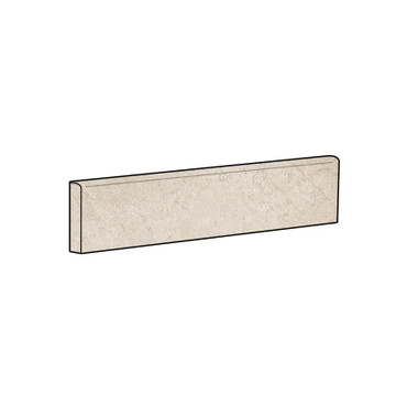 Rooted Ivory Matte Bullnose 3x24 (TMWIVBNS)