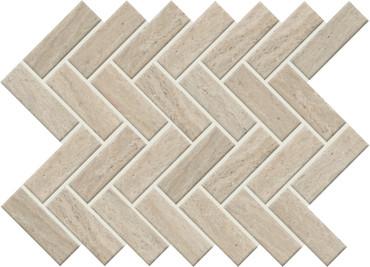 Sunset Falls Beige Ceramic Herringbone Mosaic (SF1613HERMS1P2)