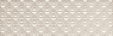 Visual Impressions Beige Quadrangle Wall Tile 8x24 (VI11824QDR1P2)