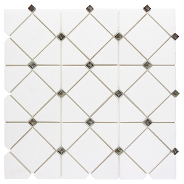 Dazzle Silver Limelight Mosaic (ANTHDALS)
