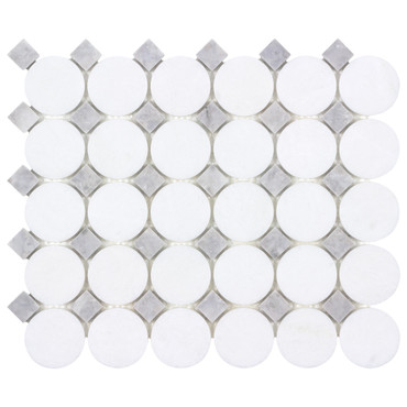The Finish Line Manor Gray Buttons Mosaic (ANTHFLGB)