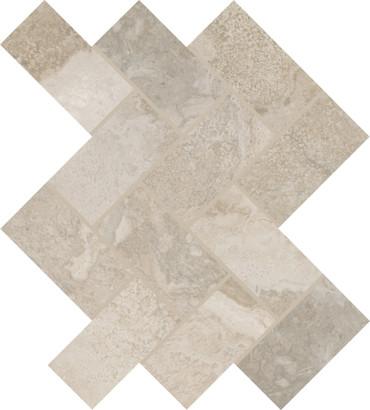 Archaia Artifact Beige Ceramic Herringbone Mosaic (AR4124HERRMS1P2)