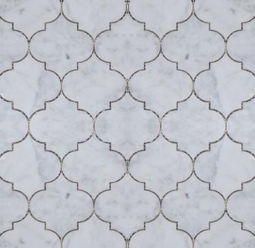 Manhattan Carrara Polished Verona Mosaic (MB128)