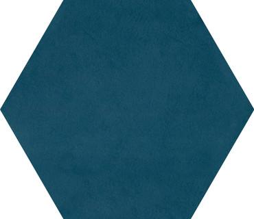 Bee Hive Medley Blue Porcelain Hex 8.5x10 (P0418510HEX1P)