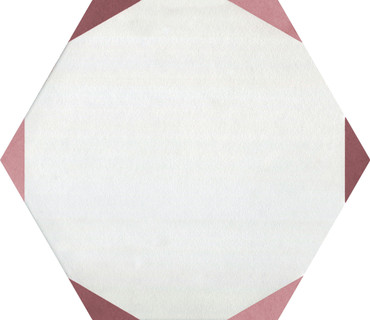 Bee Hive Medley Sun Marsala Porcelain Hex 8.5x10 (P043810HXSNDC1P)