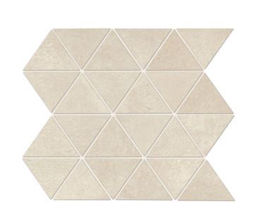Chord Sonata White Matte Triangle Mosaic (CH2033TRIAMS1P2)