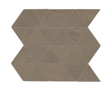 Chord Rhythm Brown Matte Triangle Mosaic (CH2333TRIAMS1P2)