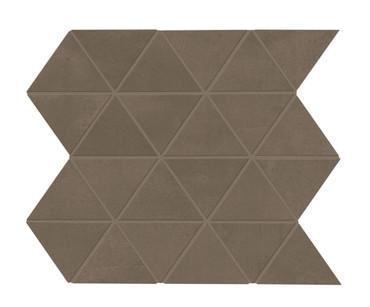 Chord Baritone Brown Matte Triangle Mosaic (CH2433TRIAMS1P2)