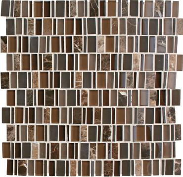 Clio Eos Random Glass Mosaic (CL171RANDMS1P)
