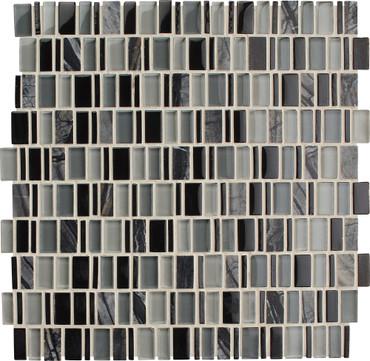 Clio Boreas Random Glass Mosaic (CL181RANDMS1P)
