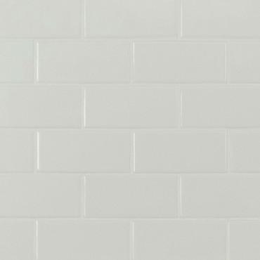 Domino White Matte 2x4 Mosaic (SMOT-PT-RETBIA-2X4M)