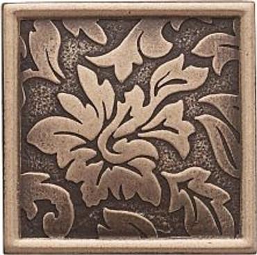Dorset Antique Bronze Damask Dot 2x2